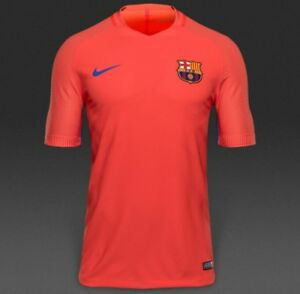 43214f62c Nike FC Barcelona 16 17 Aeroswift Strike Men s Training Shirt ...
