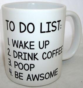 Wake-Up-Drink-Coffee-Poop-Be-Awsome-Tea-Mug-Fathers-Mothers-Day-Xmas-Gift