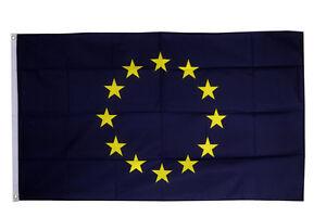 European Union Eu Nation 3/' X 2/' 3ft x 2ft Flag With Eyelets Premium Quality