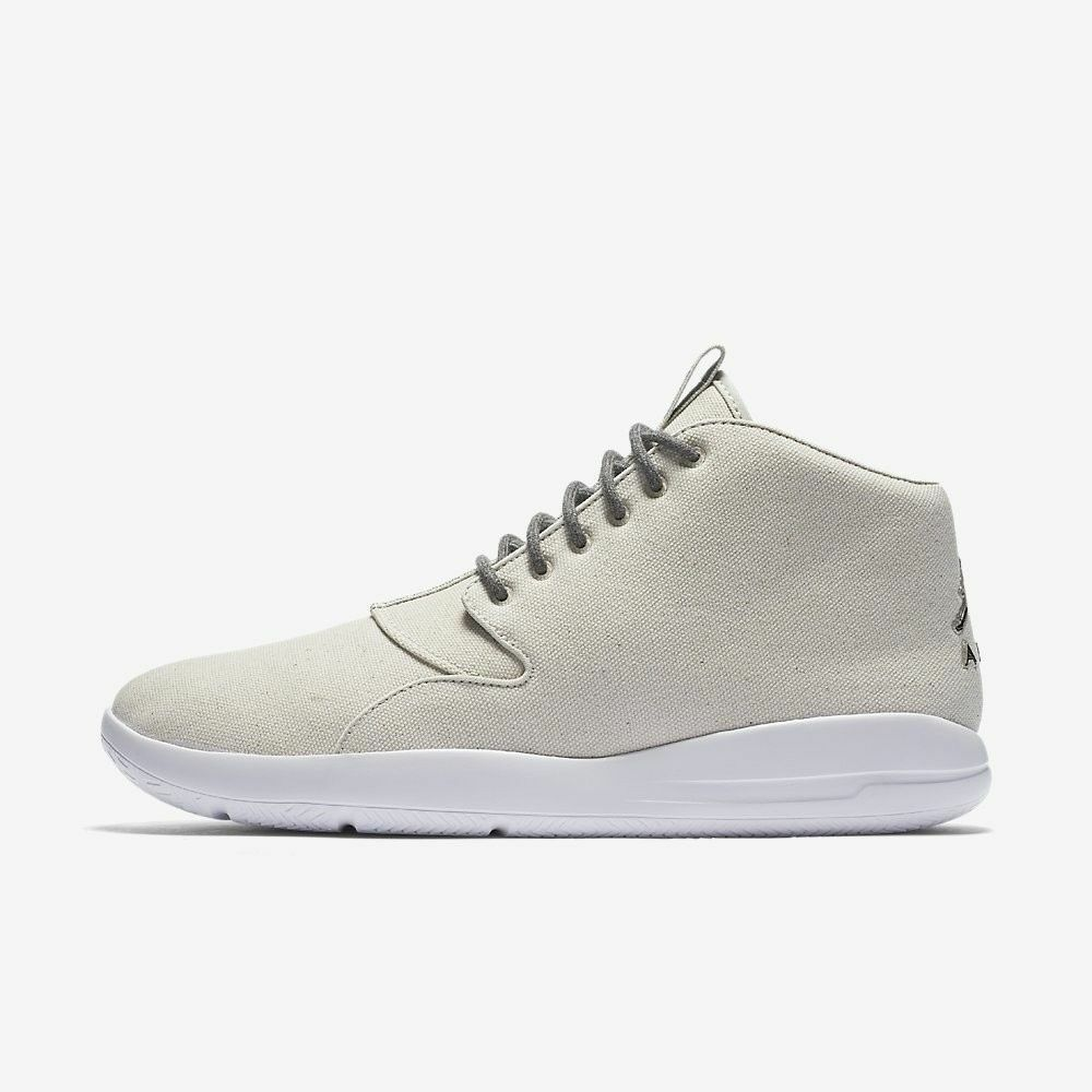 NIKE JORDAN ECLIPSE CHUKKA Mid Trainers UK Casual Fashion UK Trainers 11 (EUR 46) Light Bone 4dd74c
