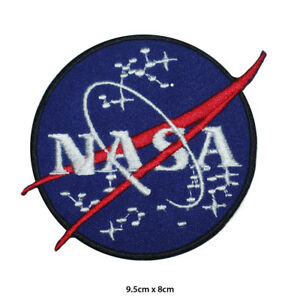 NASA-USA-Administration-Embroidered-Patch-Iron-on-Sew-On-Badge-For-Clothes-etc