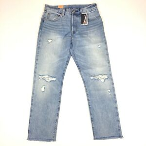be36fcc4 Image is loading Levis-Womens-501-Selvedge-Jeans-28x28-Button-Fly-