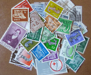 IRELAND-STAMP-COLLECTION-PACKET-of-50-DIFFERENT-Stamps