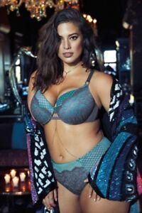 d734dd0d7ef Details about Ashley Graham Sexy Lingerie Photo 4x6 8x10 11x14 (Select  Size) #068