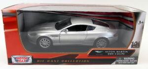 Motormax-1-24-SCALA-DIECAST-73321-ASTON-MARTIN-DB9-Coupe-Argento