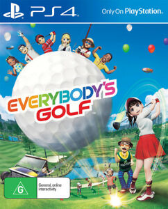 Everybodys Golf PS4 Game