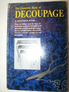 The-Complete-Book-of-Decoupage-Vintage-1965-Arts-Crafts-Hardback