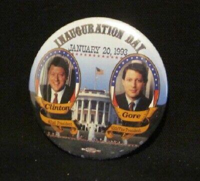 1993 An American Reunion Bill-Hillary Clinton /& Al-Tipper Gore Button Pinback