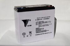 48V 20AH Battery for eBike/ Electric Bike/ Scooter [AGM-GEL Hybrid; 6-DZM-20]