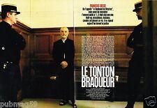 Coupure de Presse Clipping 2002 (4 pages) Francois Besse le Tonton braqueur