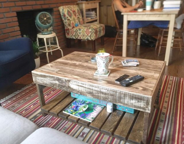 Reclaimed Wood Coffee Table For Sale Online