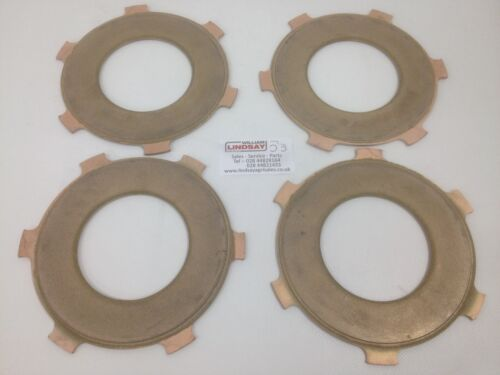 Howard Rotavator Genuine PTO Clutch Plate Set Of 4 Fits Old and New Models