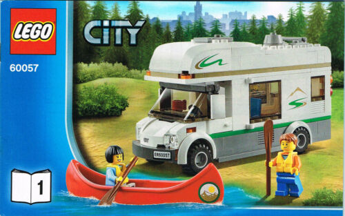 for Lego City Camper Van 2 Booklet LEGO 60057 NEW Instruction Books