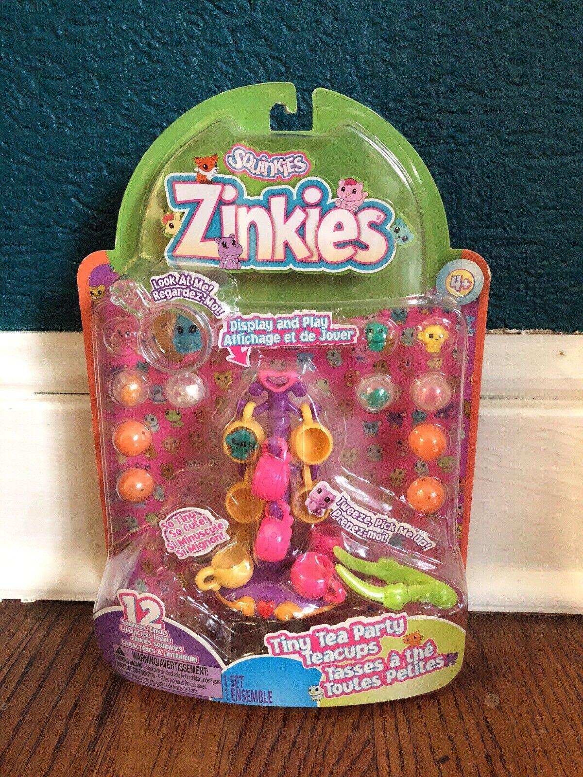 NEW Squinkies Zinkies Tiny Tea Cups Party