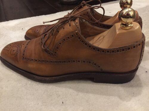 exquise Une chaussures richelieu paire 'romano de Tan Martegani' italiennes 55rwBxRtq