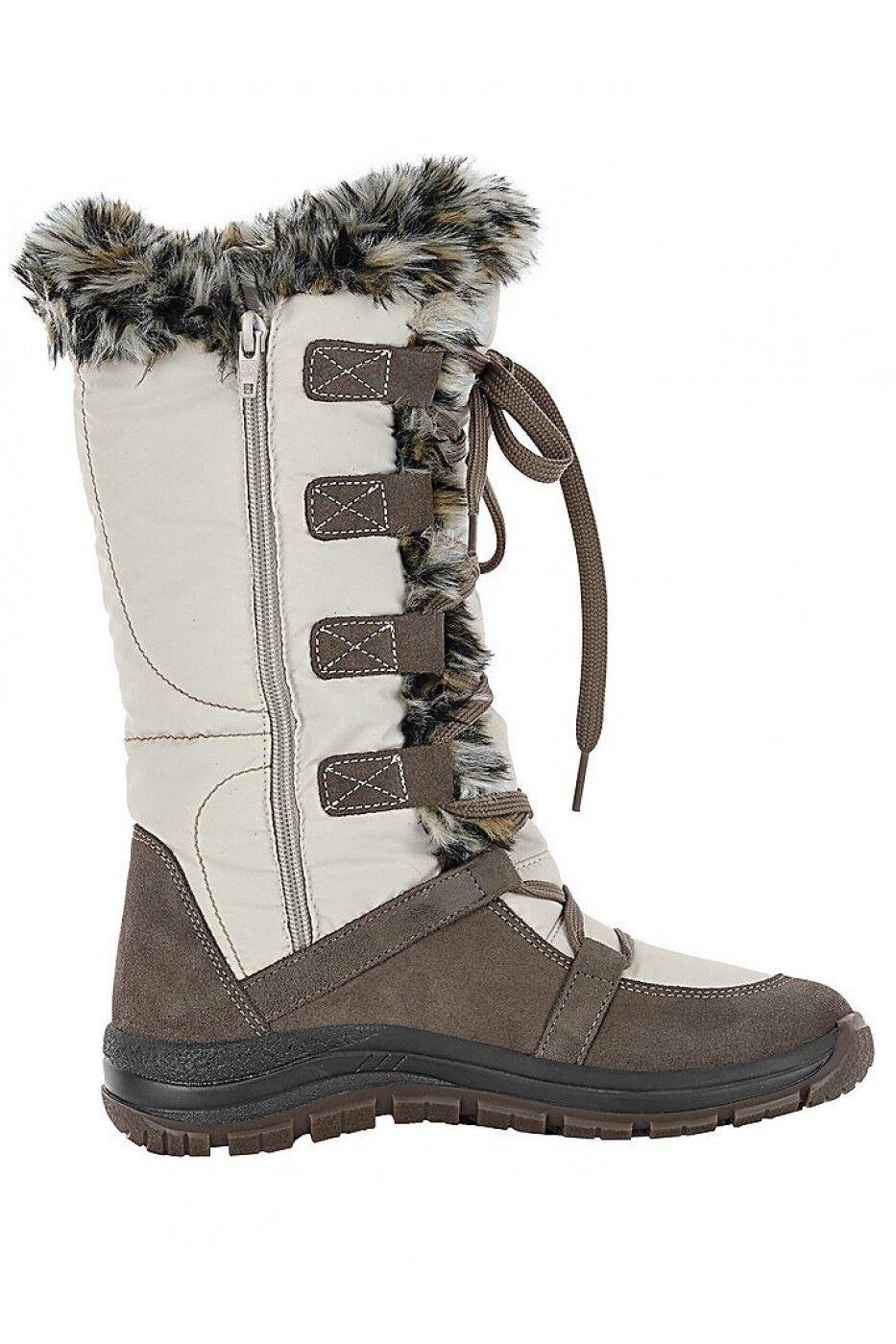 Heine Zip Up Snow Stiefel Cream UK UK UK 5 EU 38 LN181 AF 04 f002c4