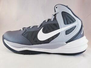bc431c32107fe Nike Prime Hype DF Men s Wolf Grey Basketball Shoes 683705 003 Size ...