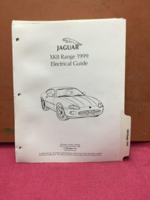 1999 Jaguar Xk8 Original Wiring Diagrams