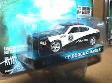 "Greenlight 1/64 2010 Rio Police Charger ""Fast & Furious"" - Hollywood 2"