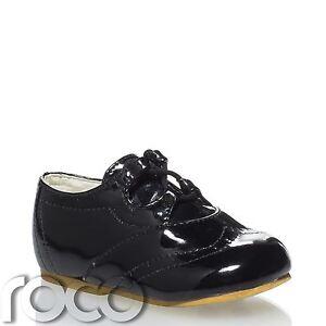 sports shoes aa9ad 2d199 Details zu Baby Jungen Schwarze Schuhe, Seite Kleinkind Babyschuhe