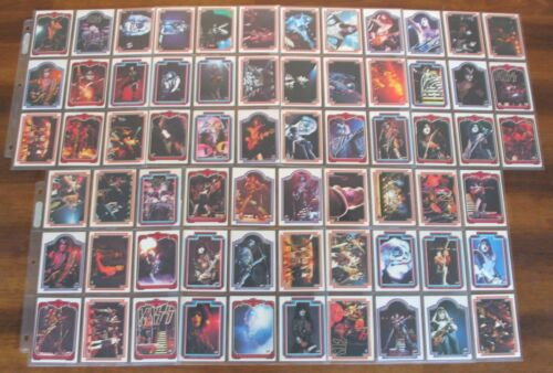 Kiss Cards Complete Set 1978 Donruss Series 1 Trading Cards Bubble Gum a