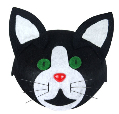 Costume Accessory Fancy Dress Up World Book Day Animal Childs Cat Hat