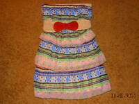 Rue 21 Geo Layered Top Dress Length Size M Medium