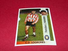 FRANCISCO J. NAVARRO C.D. LOGRONES PANINI LIGA 96-97 ESPANA 1996-1997 FOOTBALL