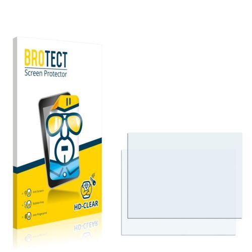 2x brotect protector de pantalla claro Nikon Coolpix p520 lámina protectora