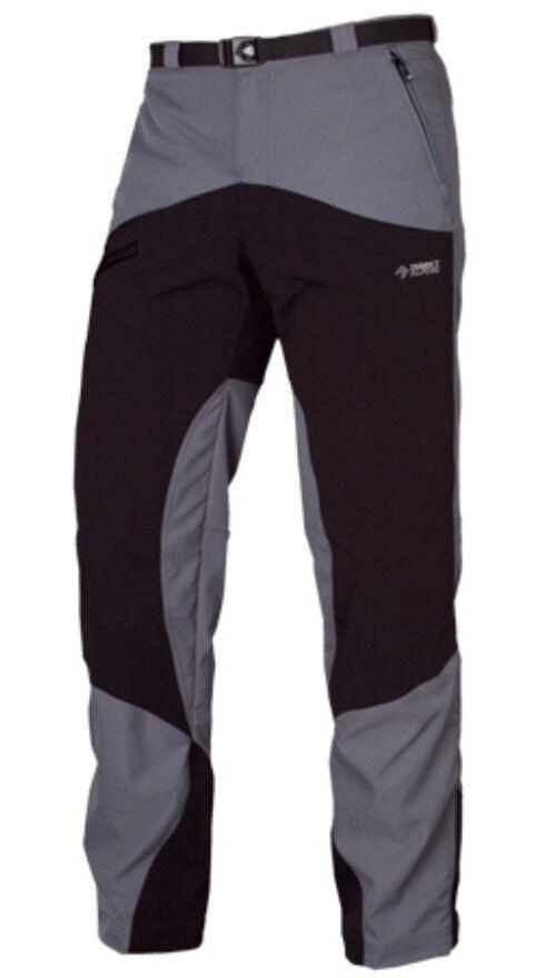 DIRECT Alpine MOUNTAINER Pantaloni, Pantaloni Outdoor per uomini, grey black