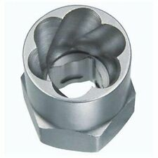 """Hanson 53908 Bolt Extractor, For 13mm Bolts, Reverse Spiral Flutes, 3/8"""" Drive,"""
