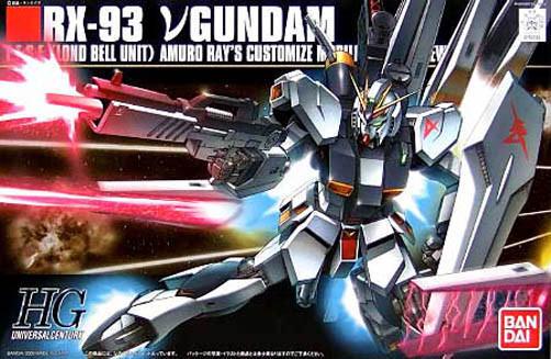 Bandai 1  144 HGUC 086 RX -93 Nu Gundam
