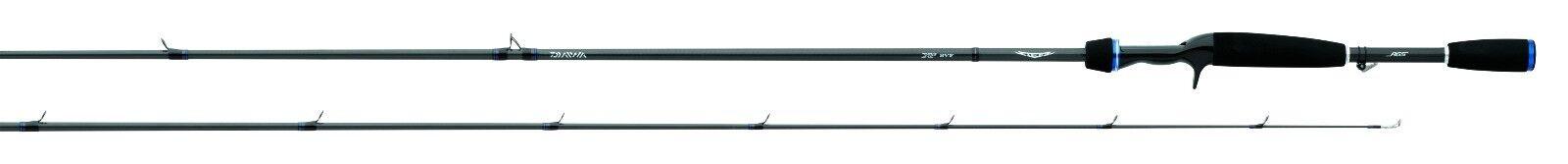 Daiwa Steez AGS Graphite Casting 7'4  Fast Frog Fishing Rod - STZ741XHFB-AGS