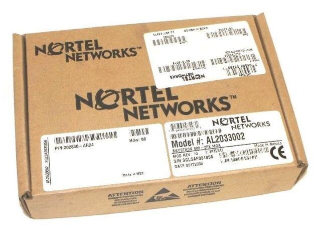 P119389-400-2FX MDA Bay Networks BayStack 400-2FX MDA Module NORTEL