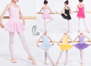 c1ea288ae0b39 AU STOCK GIRLS ADULTS DANCE BALLET DRESS COTTON GYMNASTICS LEOTARD ...