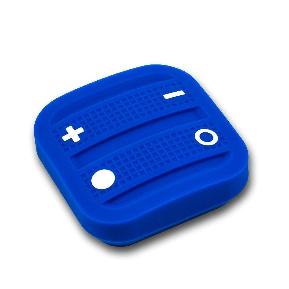 Nodon EnOcean The Soft Remote 4 Taster 2 Kanal Fernbedienung ohne Batterie, blue