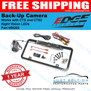 Edge CTS CTS2 Insight Evolution License Plate Mount Backup Camera 98202