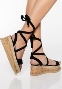 flatform sandals size 5