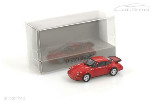 Turbo Indischrot Minichamps 1:87 870069100 Porsche 911 964