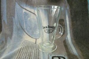 JACK DANIELS Glass Latte Mug . FREE UK P+P ..................................... tu5cYR2C-09101929-652412976