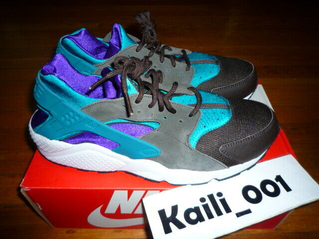 brand new f3dc3 d391a ... Nike Air Huarache Size 12 Teal Teal Teal Pack 318429-263 Size LE B  d5ce15 ...