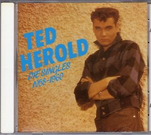 TED-HEROLD-Die-Singles-1958-1960-ROTES-POLYDOR-LABEL-CD-Bear-Family