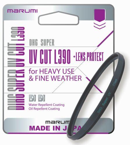 Lente proteger 72mm-DHG72SUV Marumi DHG Super UV Filtro de corte L390