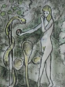 Rudolf Bear 1927 - Eva and The Snake IN Paradise