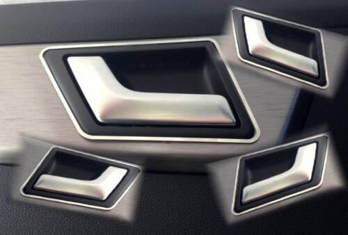 Edelstahl poliert D Mercedes X204 GLK Chrom Rahmen für Türgriffe vorne hinten