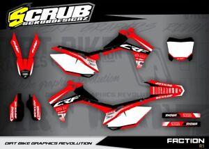 Das Bild Wird Geladen Honda CRF Dekor Grafik Set 250 450 R