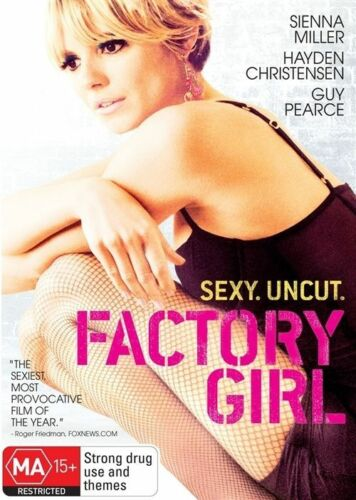 1 of 1 - Factory Girl (DVD, 2007) Guy Pearce - Hayden Christensen Sienna Miller (Box D61)