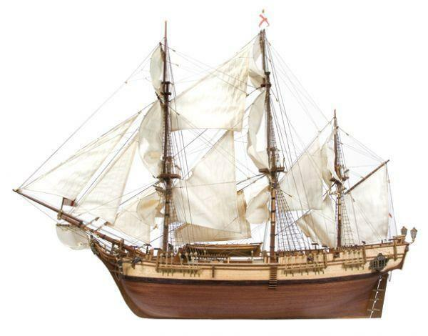Beautiful Brand New Wooden Model Ship Kit By Occre The Hms Bounty