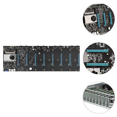 Details about  BTC-S37 Miner Motherboard 8 GPU 8 PCIE x16 Graphics Card w/ Cpu DDR3 VGA HDMI AU