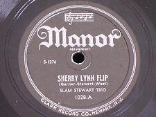 Slam Stewart-Erroll Garner/Sherry Lynn Flip-Blue Brown and Beige/Manor 1028/NOS*